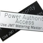 Power Authority Label (Medium)